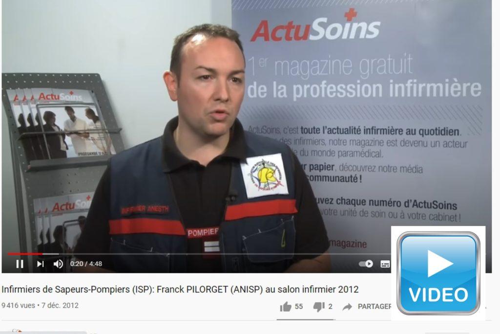 Franck PILORGET au salon infirmier 2012