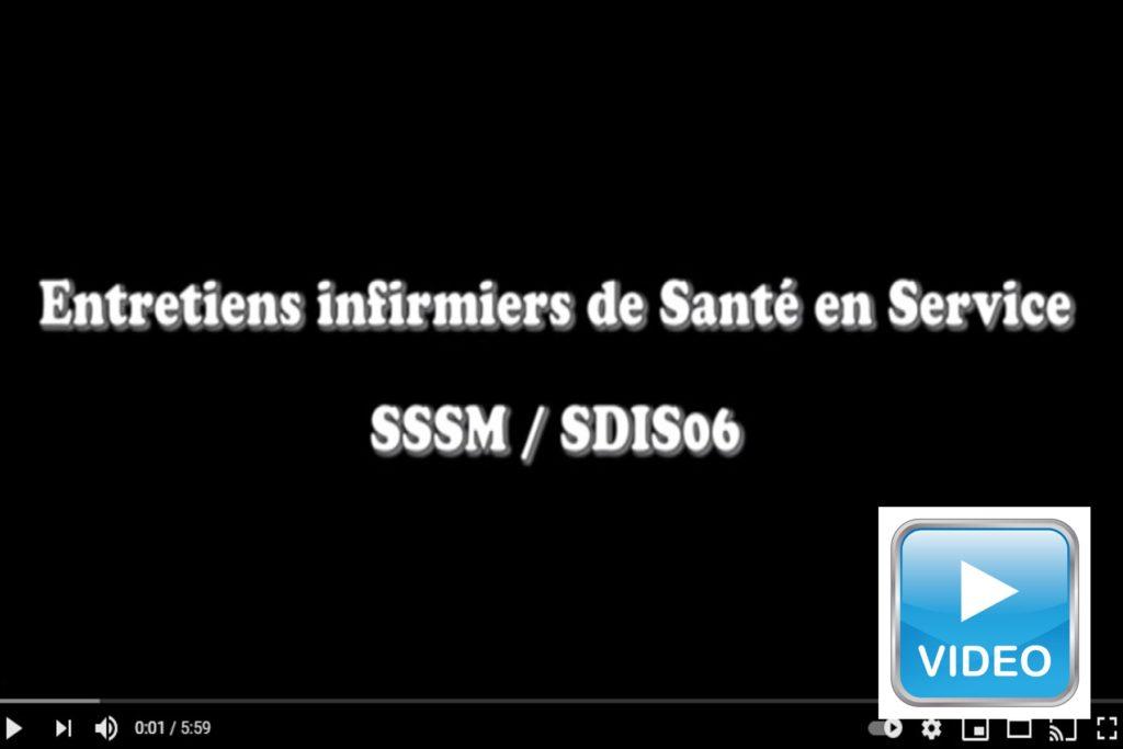 entretiens santé en service SDIS 06