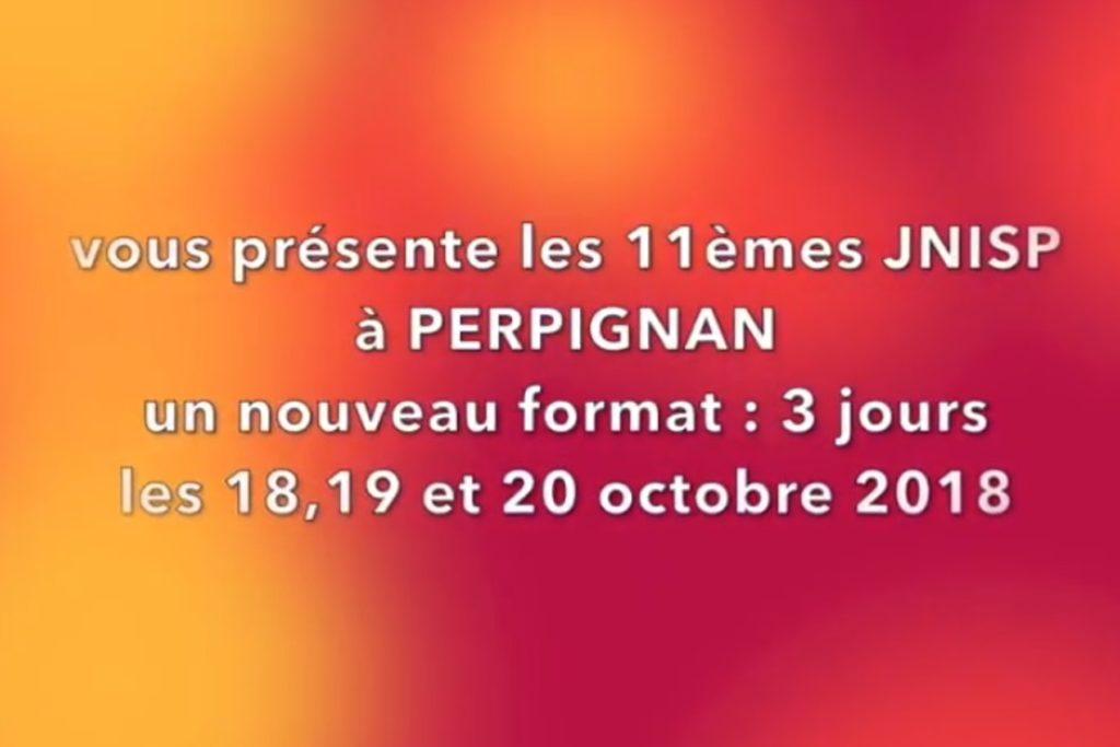 jnisp 2018 Perpignan