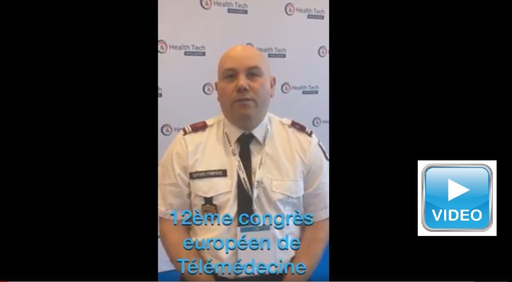 Benoit Birembaut au 12ème congrès européen de la télémédecine 2019