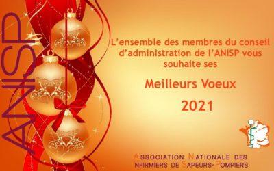 L'ANISP vous souhaite ses meilleurs vœux 2021