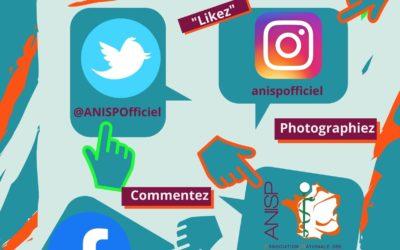 Suivez l'ANISP sur les réseaux …..